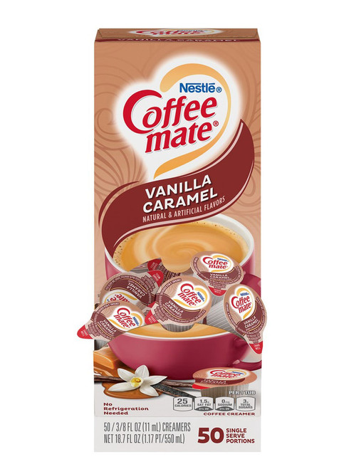 Coffee-Mate Vanilla Caramel Single Serve Liquid Creamer
