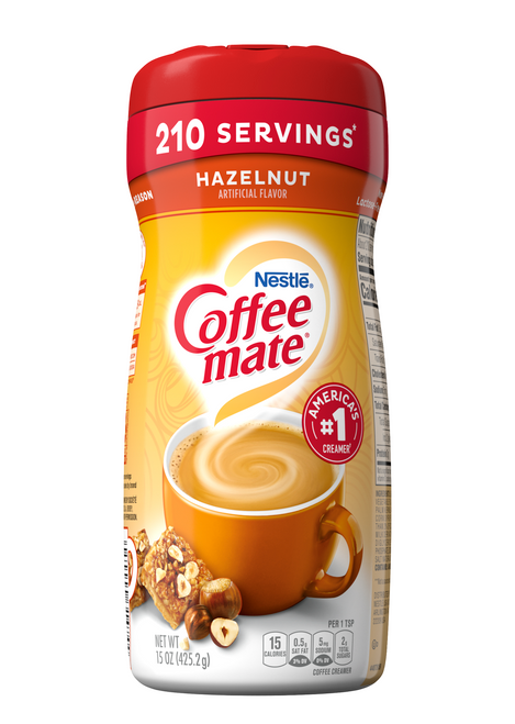 Coffee-Mate Hazelnut Powder Creamer