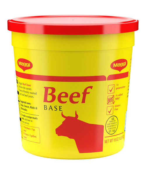 Maggi Beef Base (No Added MSG) Gluten Free