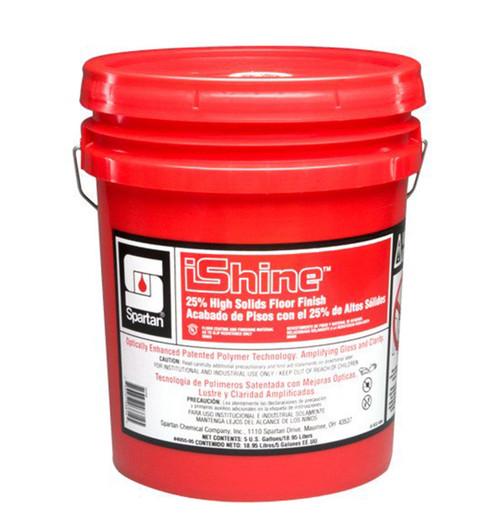 Spartan iShine 25% High Solid Floor Finish, Slight Ammonia Scent