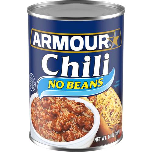 Armour No Bean Chili