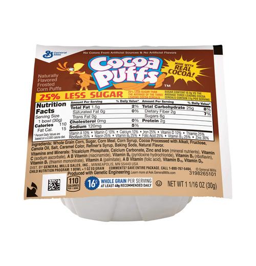 Cocoa Puffs, 25% Less Sugar