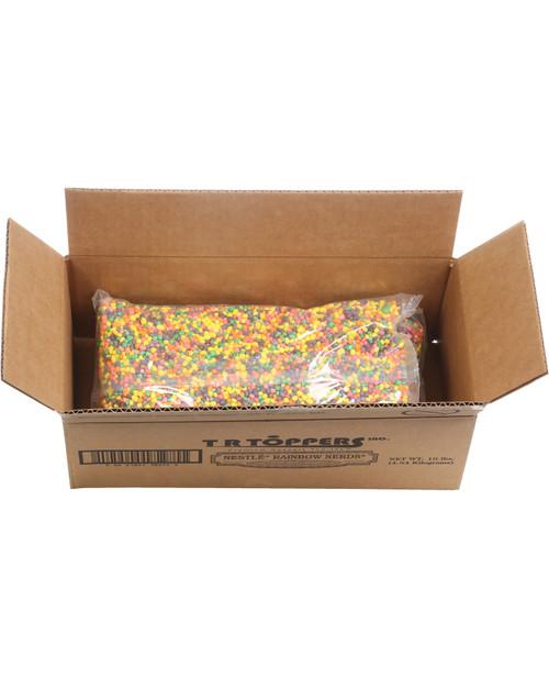 T.R. Toppers N390-100 10# Box Wonka Rainbow Nerds