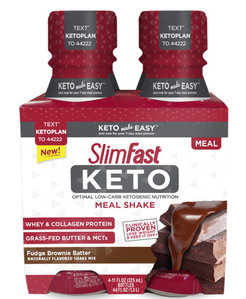 Slimfast Keto Ready To Drink Meal Shake Chocolate