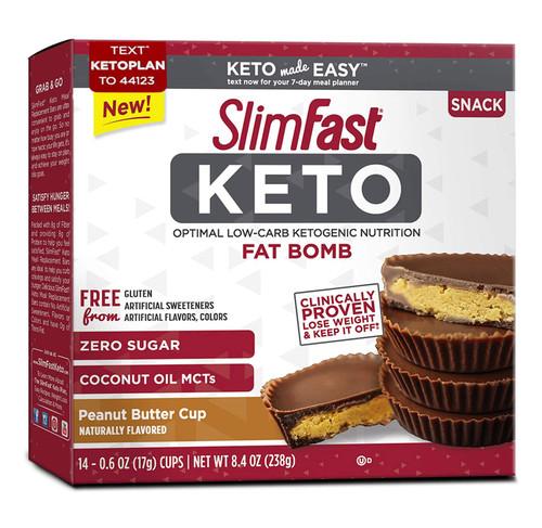 Slimfast Keto Peanut Butter Fat Bomb