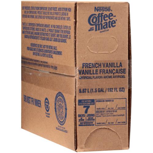 Coffe Mate Liquid Creamer, French Vanilla