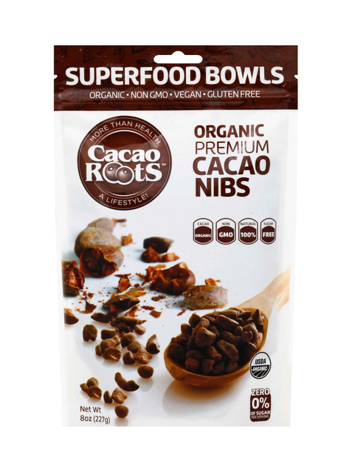 Cacao Roots Cacao Nibs Organic Premium