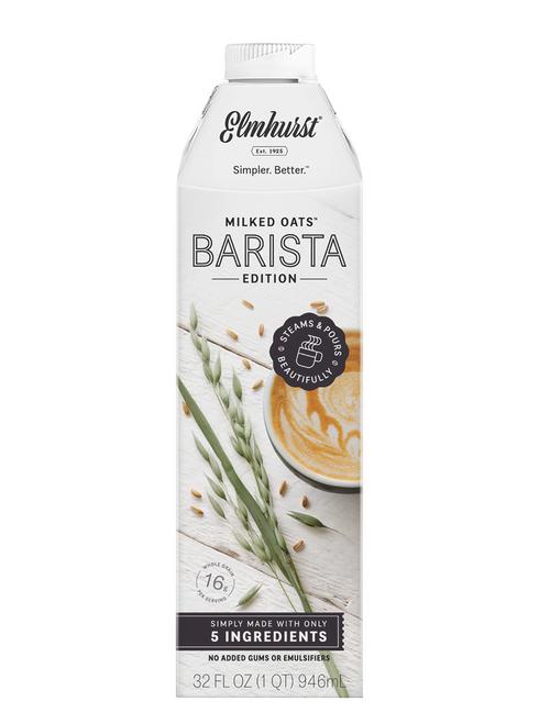 Elmhurst Barista Edition Oat Milk,