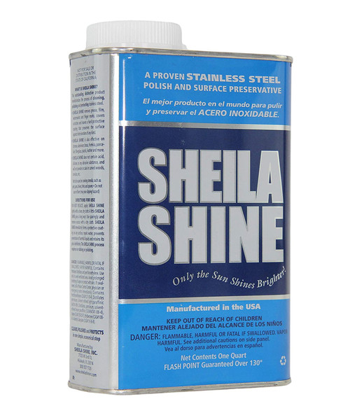 Sheila Shine Stainless Steel Polish and Surface Preservative, Wintergreen Scent