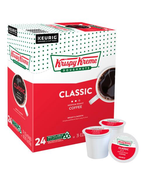 Krispy Kreme Classic Coffee K-Cups, Medium Roast