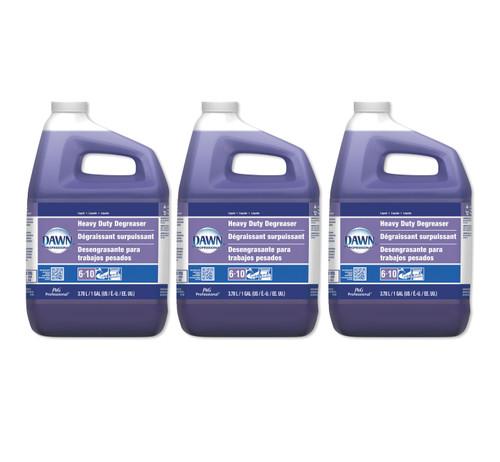 Dawn Professional Heavy Duty Degreaser, 1 Gallon, 3 Bottles/Carton