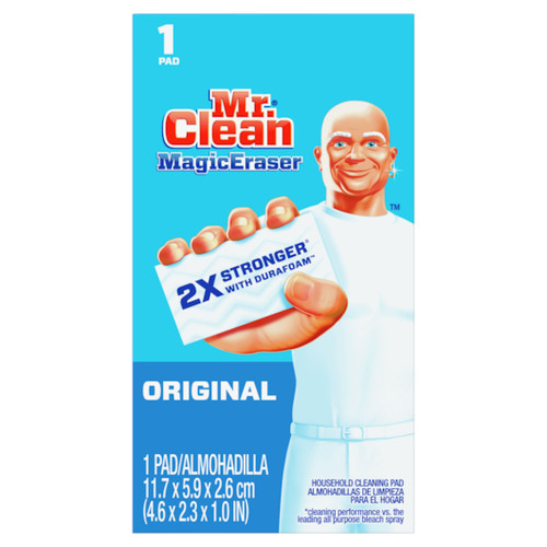 Mr. Clean Original Magic Eraser 2X Stronger With Durafoam