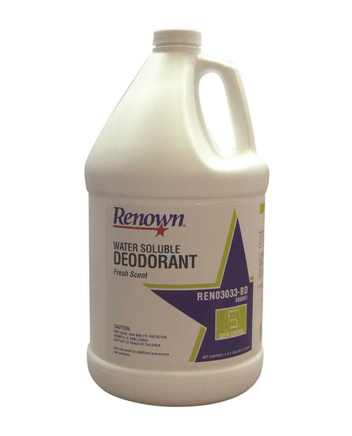 Renown Water Soluble Deodorant,  Fresh Scent