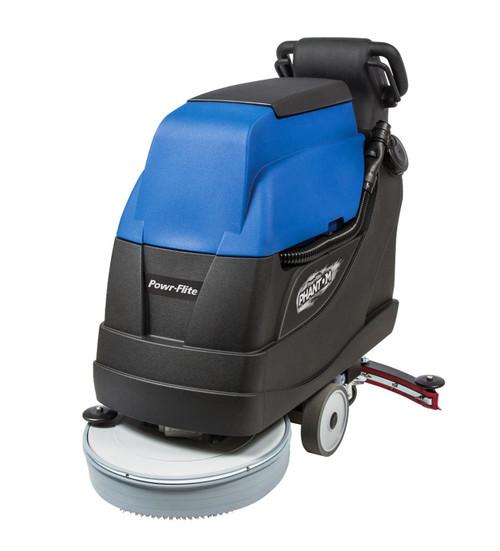 """Powr-Flite PFS20 Phantom 20"""" Battery Powered Floor Scrubber"""
