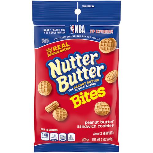 Nabisco Nutter Butter Sandwich Cookies, Peanut Butter
