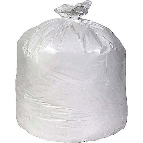 Coastwide Linear Low Density Flat Pack Can Liners, 33 Gallon,  White