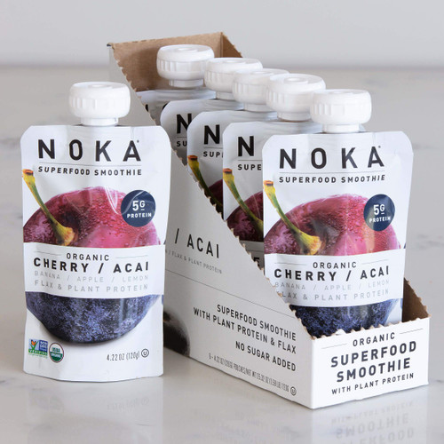 Noka Cherry Acai Superfruit Smoothie