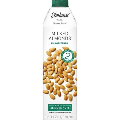 Elmhurst Milked Unsweetened Almond Milk