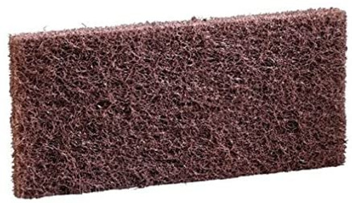 3M Niagara Brown Utility Pads 8541N. This pad is ideal for cleaning the areas which cant be reached with automated equipment. This 4 5/8 inch x 10 inch pad is for heavy-duty cleaning such as removing finish and wax from baseboards.