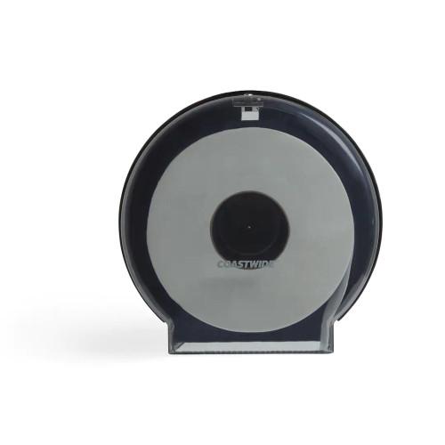 Coastwide Jumbo Roll Toilet Paper Dispenser, Translucent Smoke