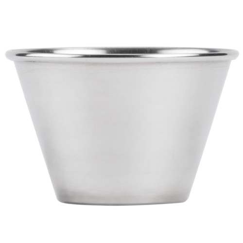 American Metalcraft MB4 4 oz. Stainless Steel Round Sauce Cup (240 Count)
