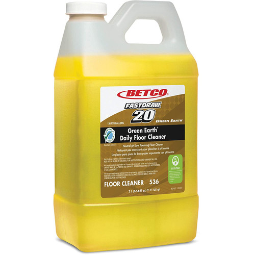 Betco Green Earth Daily Floor Cleaner, 2L (4 Packs)