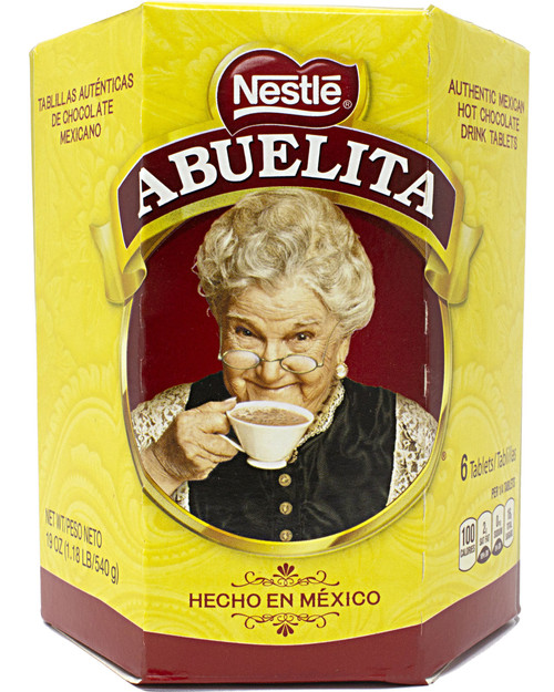 Nestle Abuelita Authentic Mexican Hot Chocolate Drink Tablets 19 oz (12 Boxes)