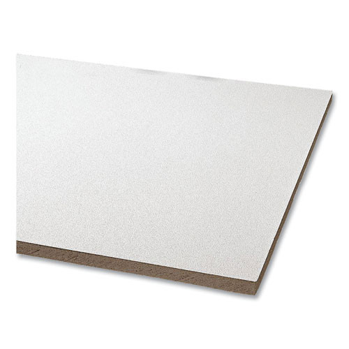 """Clean Room Vl Ceiling Tiles, Non-directional, Square Lay-in (0.94"""" Or 1.5""""), 24"""" X 48"""" X 0.63"""", White, 8/carton"""