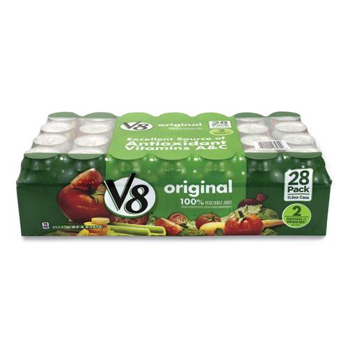 V-8 Vegetable Juice, 11.5 Oz Can, 28/pack