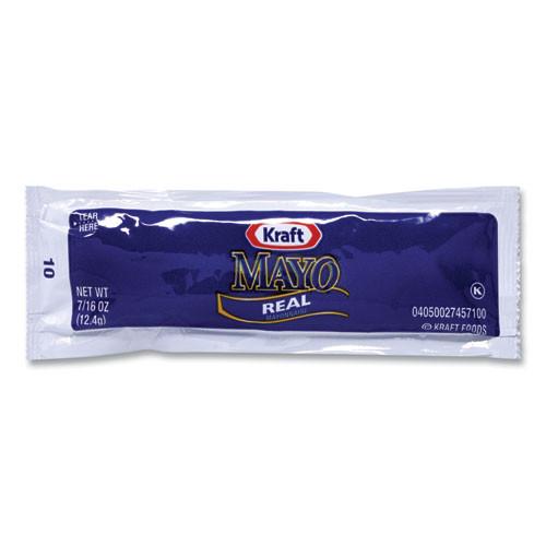 Kraft Mayo Real Mayonnaise, 0.44 Oz Packet, 200/box
