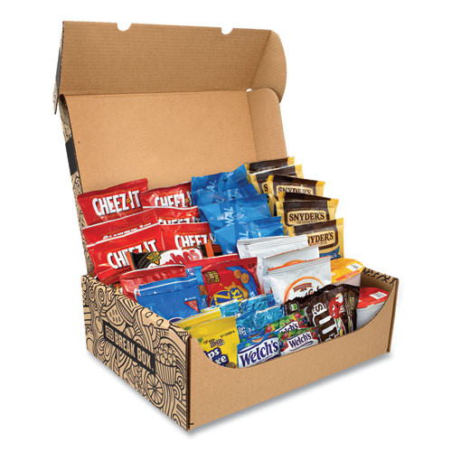 Snack Box Pros Party Snack Box, 45 Assorted Snacks - GRR700S0003
