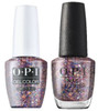 OPI DUO GelColor + Matching Classic Nail Lacquer Confetti Ready
