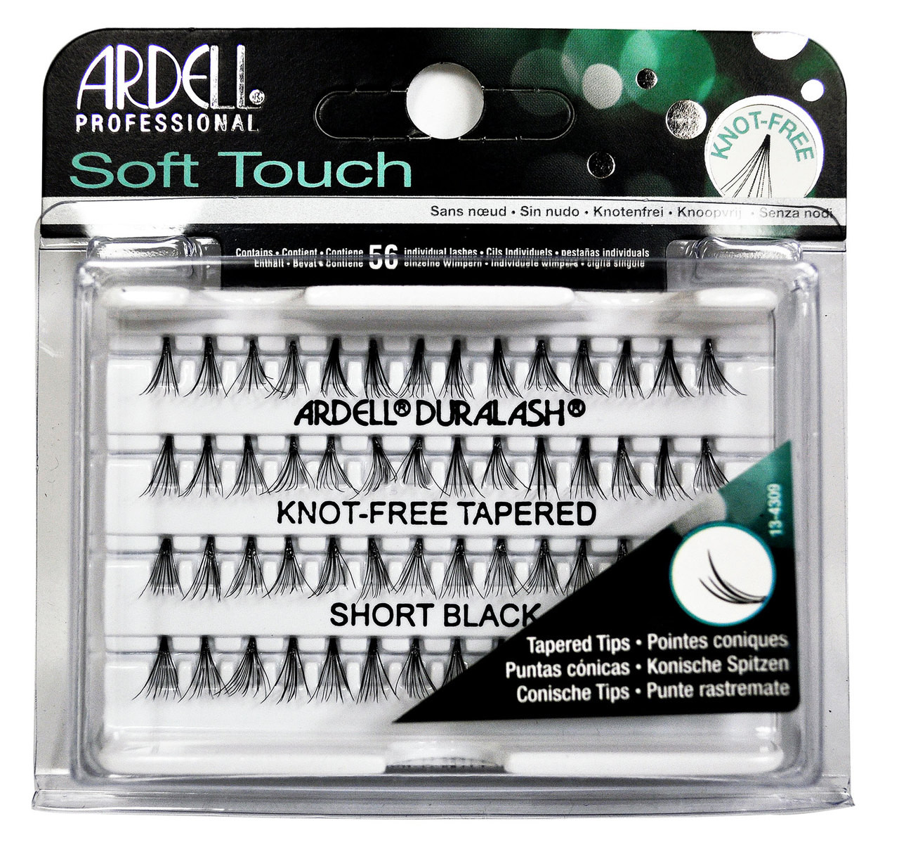 Ardell Soft Touch Knot-Free Tapered Short Black