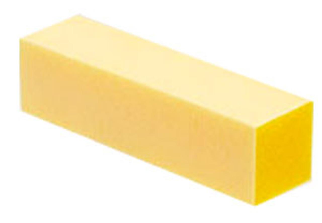 Yellow Nail Buffer - 4 Way - Grit 120