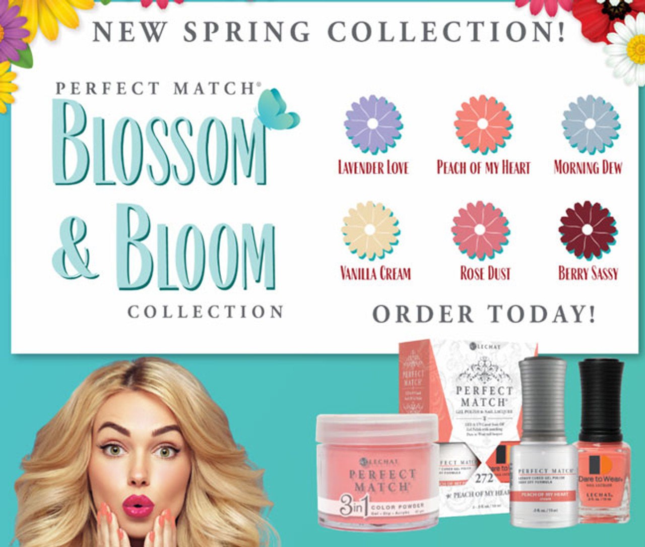 LeChat Perfect Match Blossom & Bloom Collection - Open Stock