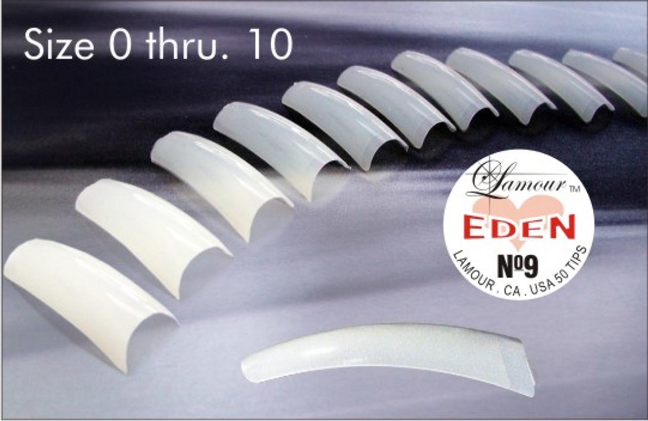 Lamour Natural Eden Tips - 50ct/bag