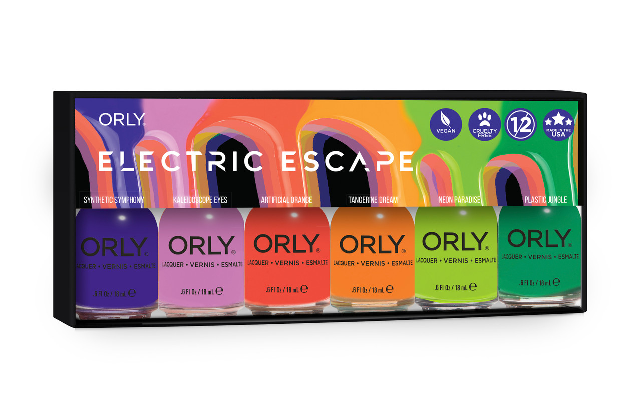 Orly Nail Lacquer  2021 Summer Electric Escape - Open Stock