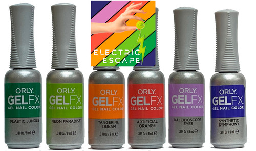 Orly Gel FX 2021 Summer Electric Escape - Open Stock