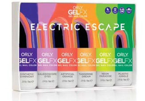 Orly Gel FX 2021 Summer Electric Escape - 6pc *** NO Display