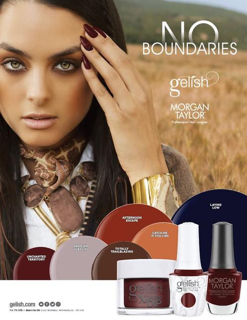 Gelish Trio No Boundaries Fall 2021 Collection - Trio Pack