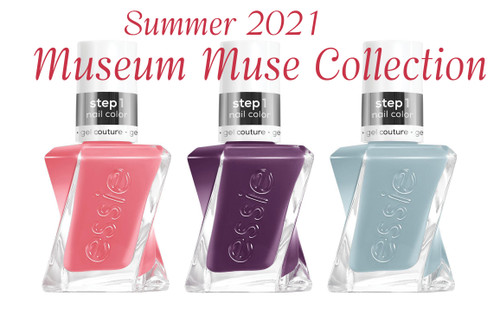 Essie Gel Couture Summer 2021 Museum Muse Collection - 3 PCS