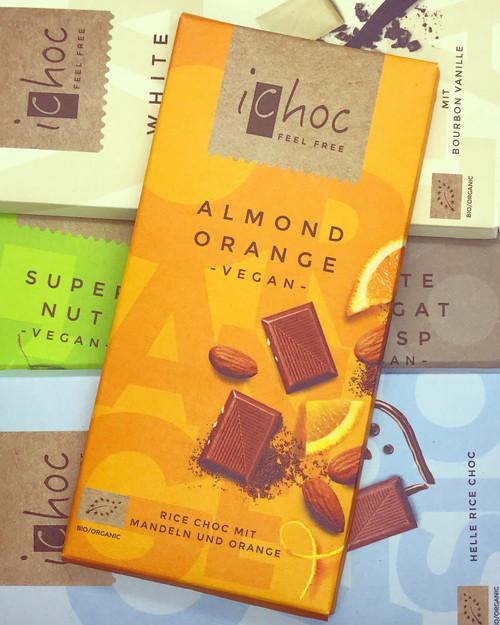 Almond Orange Chocolate iChoc Bar