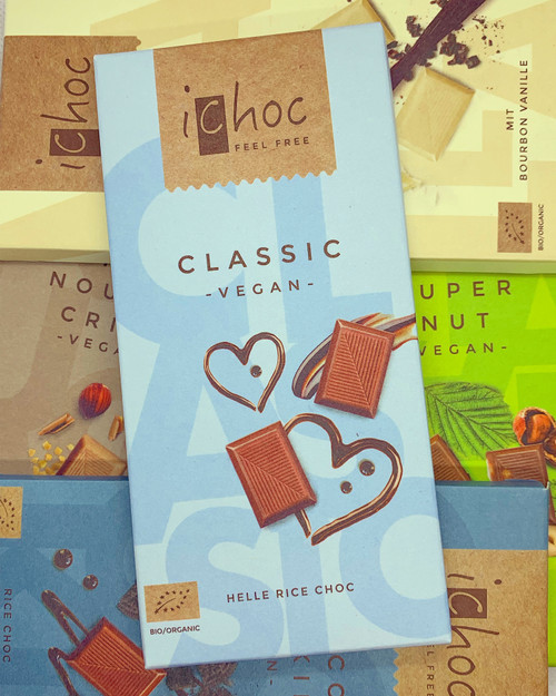 iChoc Classic Milk Chocolate Bar