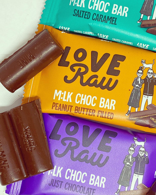 Peanut Butter filled M:lk Chocolate Bar
