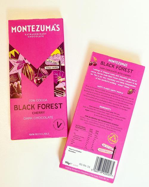 Montezuma's Black Forest Cherry Chocolate