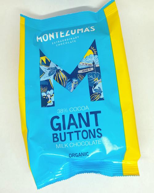 Montezumas 38% Milk Chocolate Giant Buttons