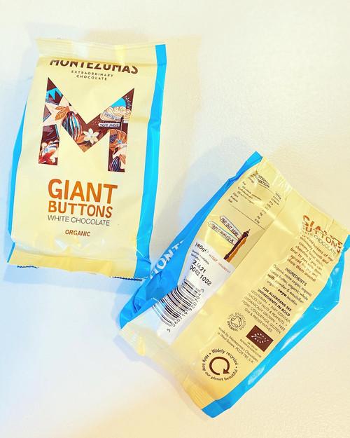 Montezumas White Chocolate Buttons
