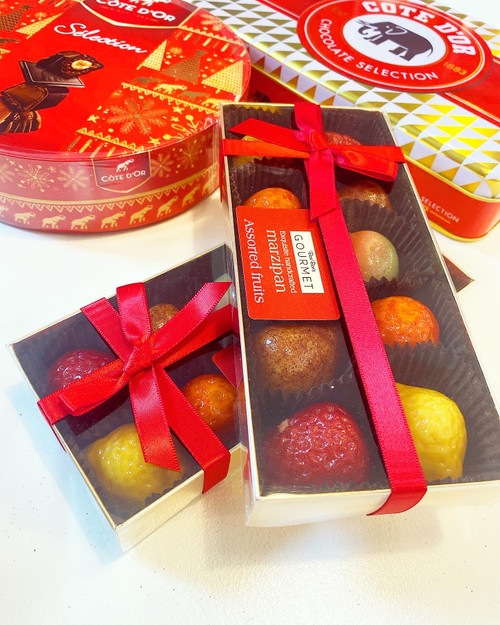 Assorted Marzipan Fruits