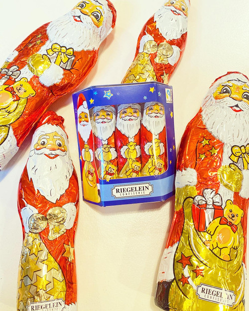 10 Pack of Chocolate Santas