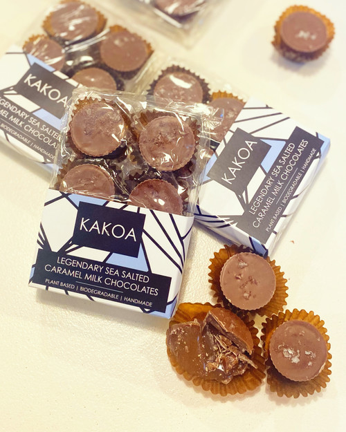 Sea Salted Caramel M*lk Chocolates